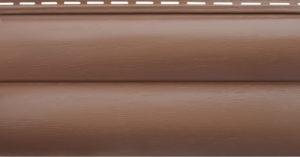 Акриловый сайдинг Альтапрофиль Блокхаус Премиум, Красно-коричневый ВН-02 Акриловый сайдинг siding-msk.ru