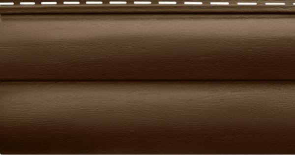 Акриловый сайдинг Альтапрофиль Блокхаус Премиум, Орех тёмный ВН-02 Акриловый сайдинг siding-msk.ru