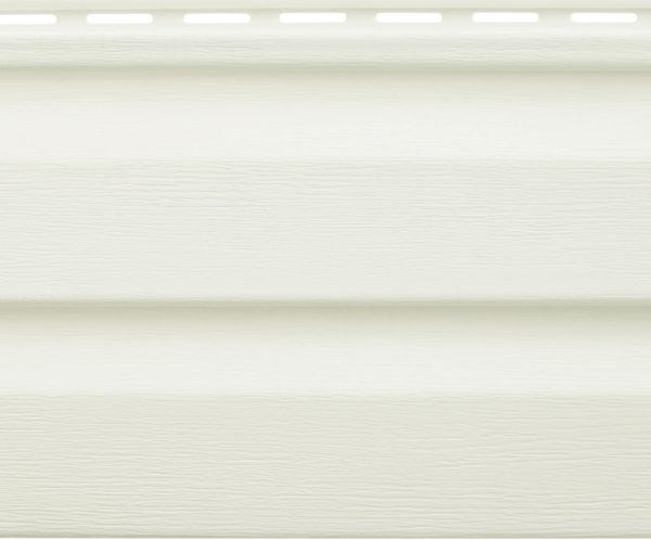 Виниловый сайдинг Альтапрофиль Аляска Белый Виниловый сайдинг siding-msk.ru