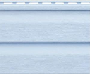 Виниловый сайдинг Альтапрофиль  Канада плюс Голубой Виниловый сайдинг siding-msk.ru