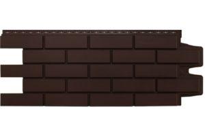 Фасадная панель Grand Line Клинкерный кирпич стандарт коричневая Сайдинг siding-msk.ru