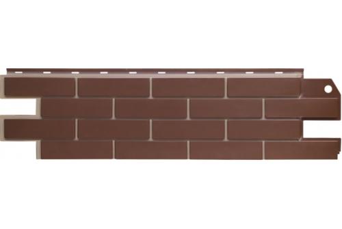 Фасадная панель Grand Line Флэмиш кирпич коричневый со швом Сайдинг siding-msk.ru