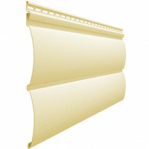 Сайдинг виниловый Блок-Хаус Docke PREMIUM, цвет Банан Виниловый сайдинг siding-msk.ru