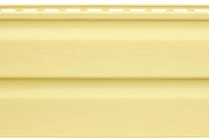 Виниловый сайдинг Альтапрофиль  Канада плюс Жёлтый Виниловый сайдинг siding-msk.ru
