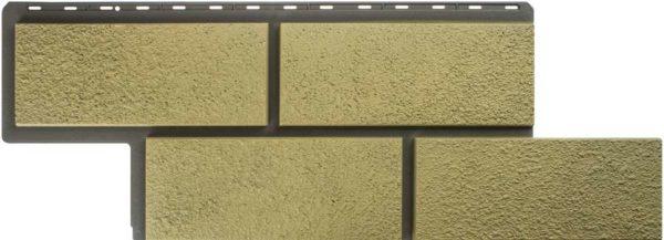 Фасадная панель Альтапрофиль Камень Неаполитанский, Песчаный, Сайдинг siding-msk.ru
