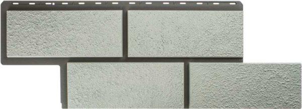 Фасадная панель Альтапрофиль Камень Неаполитанский, Белый Сайдинг siding-msk.ru