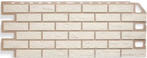 Фасадная панель Альтапрофиль Кирпич, Белый Сайдинг siding-msk.ru
