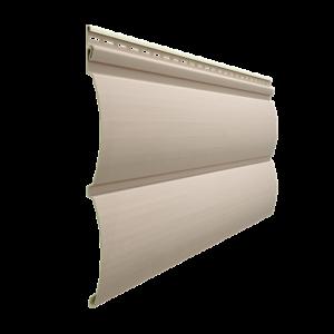 Сайдинг виниловый Блок-Хаус Docke PREMIUM, цвет Крем-Брюле Виниловый сайдинг siding-msk.ru