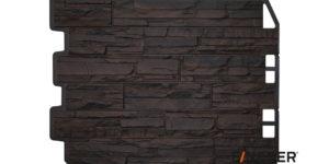Фасадные панели Fineber ДАЧНЫЙ Скол Темно-коричневый Сайдинг siding-msk.ru