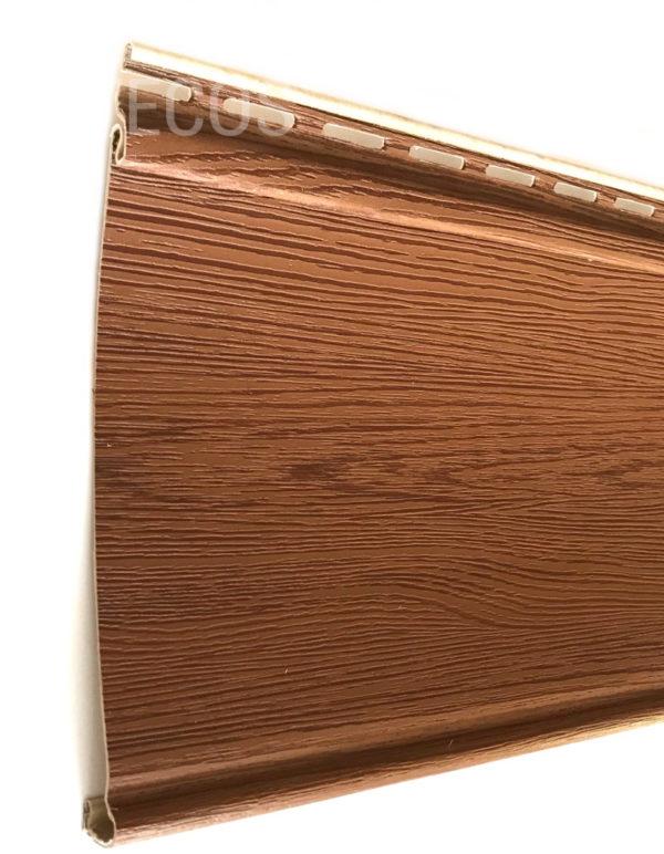 Виниловый сайдинг Tecos «Облицовочная доска» Светло-коричневый Виниловый сайдинг siding-msk.ru