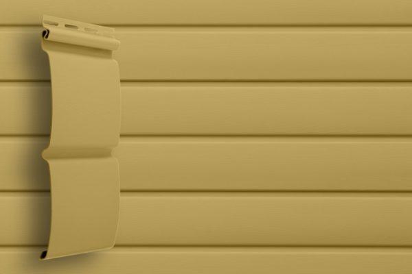 Виниловый сайдинг Grand Line  Блок хаус Карамельный Виниловый сайдинг siding-msk.ru