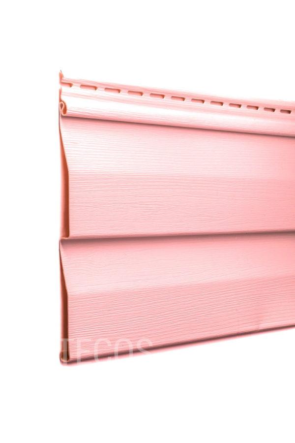 Виниловый сайдинг Tecos «Ardennes — корабельный брус» (D4.5D) Фламинго Виниловый сайдинг siding-msk.ru