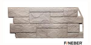 Фасадные панели Fineber STANDART Камень природный Бежевый Сайдинг siding-msk.ru
