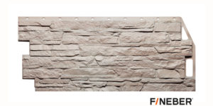 Фасадные панели Fineber STANDART Скала Бежевый Сайдинг siding-msk.ru