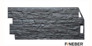 Фасадные панели Fineber STANDART Скала Серый Сайдинг siding-msk.ru