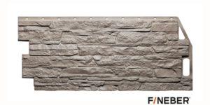 Фасадные панели Fineber STANDART Скала Светло-бежевый Сайдинг siding-msk.ru