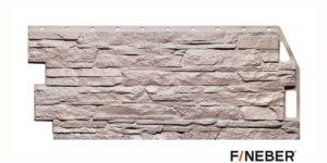 Фасадные панели Fineber STANDART Скала Розовый Сайдинг siding-msk.ru