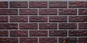 Фасадные панели Fineber STANDART Кирпич Темно-коричневый Сайдинг siding-msk.ru