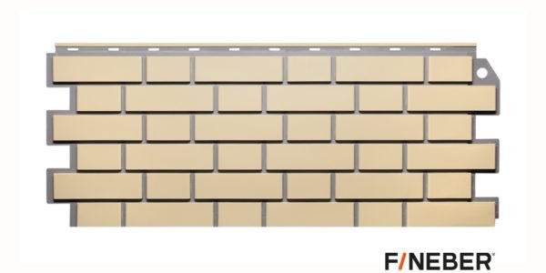 Фасадные панели Fineber STANDART Кирпич облицовочный Желтый Сайдинг siding-msk.ru