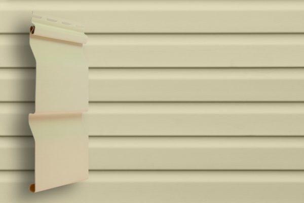 Виниловый сайдинг Grand Line  Корабельный брус слим Слоновая кость Виниловый сайдинг siding-msk.ru