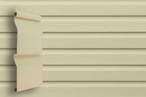 Виниловый сайдинг Grand Line  Корабельный брус Слоновая кость Виниловый сайдинг siding-msk.ru