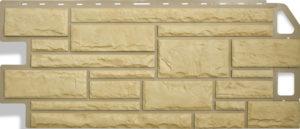 Фасадная панель Альтапрофиль Камень, Желтый Сайдинг siding-msk.ru