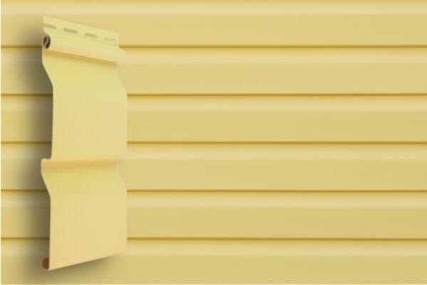Виниловый сайдинг Grand Line  Корабельный брус Золотой песок Виниловый сайдинг siding-msk.ru