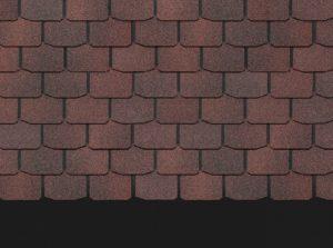 Однослойная гибкая битумная черепица Docke PREMIUM ЦЮРИХ Чили Гибкая черепица siding-msk.ru