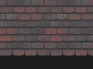 Однослойная гибкая битумная черепица Docke PREMIUM ЖЕНЕВА Изюм Гибкая черепица siding-msk.ru